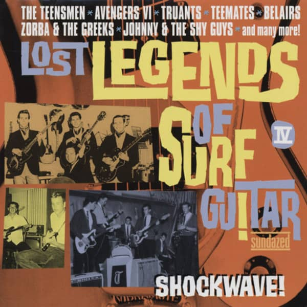 Lost Legends Of Surf Guitar Vol.4 - Shockwave! (CD)