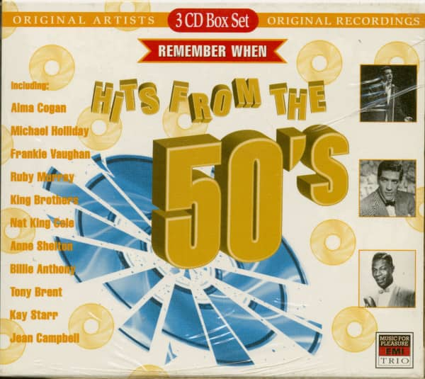 Hits From The 50's (3-CD)