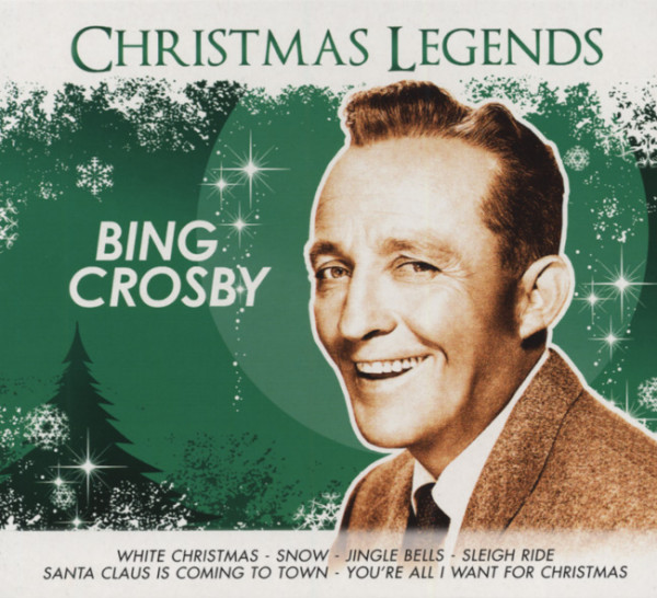 Bing Crosby Christmas Album.Bing Crosby Christmas Legends Series Digipac
