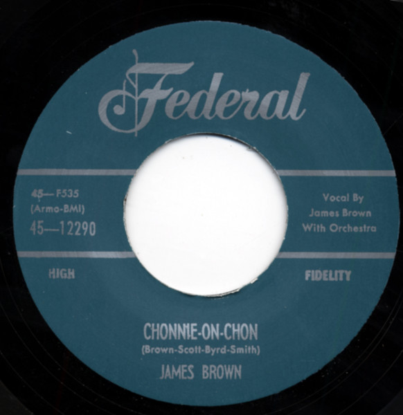 Chonnie-On-Chon b-w I Feel That Old Feeling Coming On 7inch, 45rpm