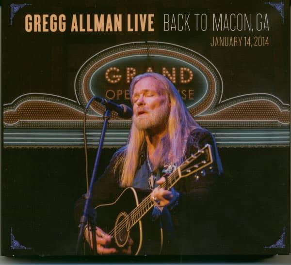 Back To Macon, GA (Llimited Edition,2-CD,1-DVD)