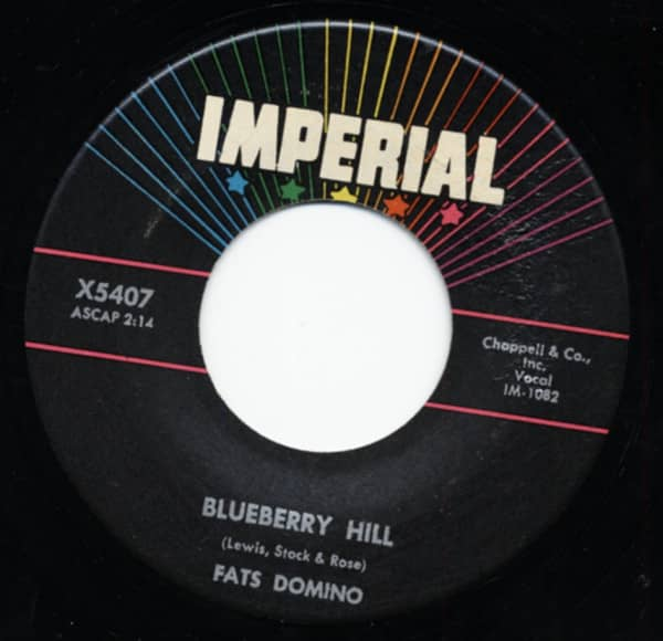 Blueberry Hill - Honey Chile 7inch, 45rpm