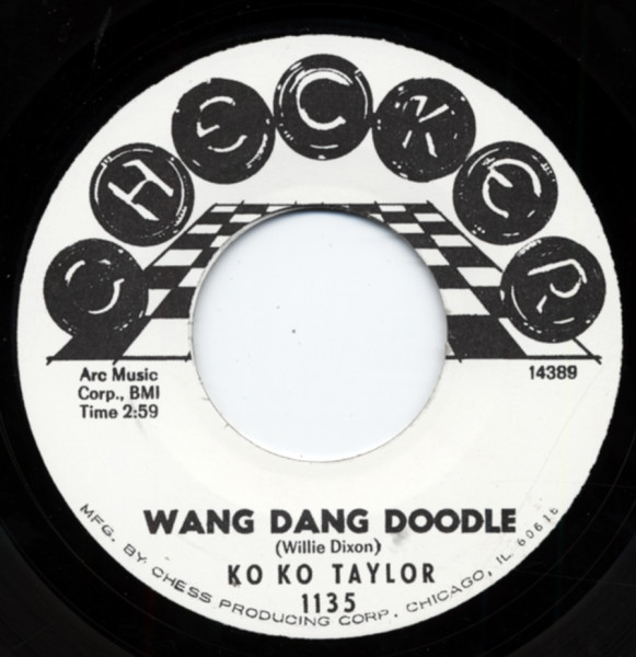 Ko Ko Taylor - The Lovers 7inch, 45rpm