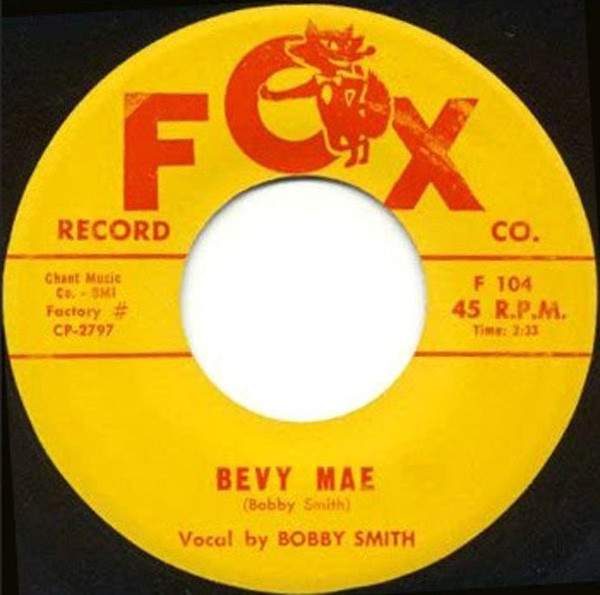 She's Gone From Me b-w Bevy Mae 7inch, 45rpm
