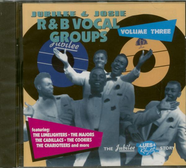 Jubilee & Josie Vocal Groups Vol.3