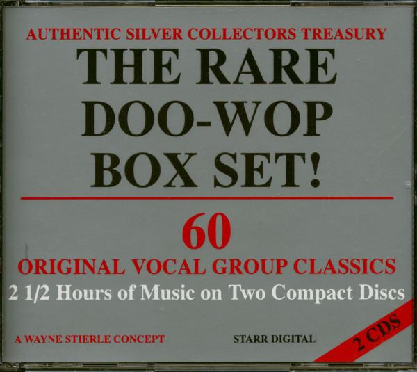 The Rare Doo Wop Box Set! (2-CD)