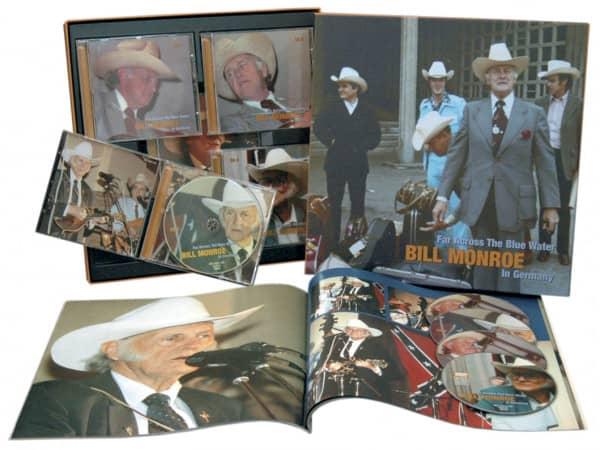 Far Across The Blue Water (4-CD & 1-DVD mit 52-seitigem Buch in LP-Format)