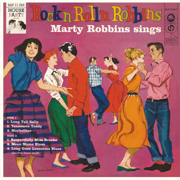 Rock'n Roll'n Robbins (LP, 10inch, Ltd.)