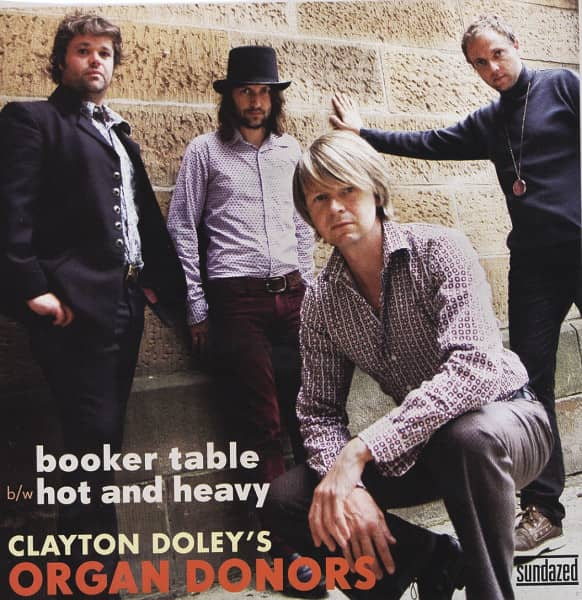 Booker Table - Hot And Heavy