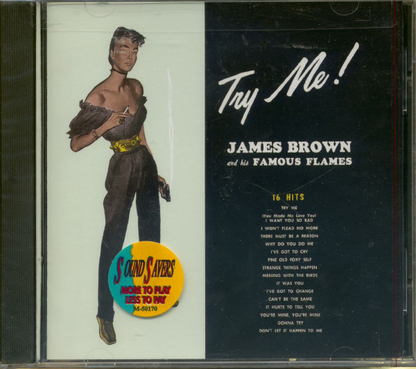 Try Me - James Brown And The Famous Flames (CD)
