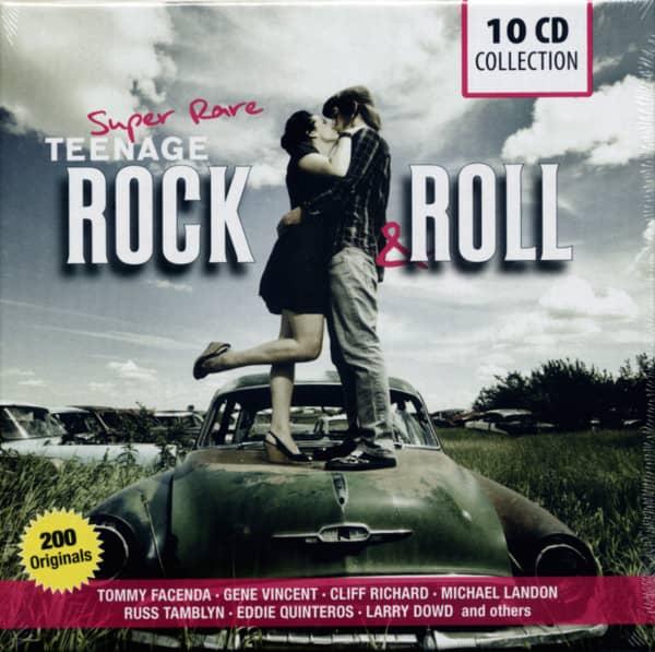 Super Rare - Teenage Rock & Roll (10-CD)