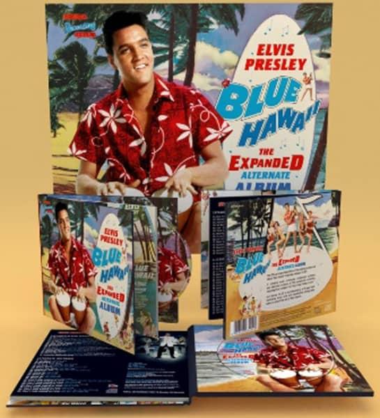 Elvis Presley Cd Blue Hawaii Expanded Alternate Album