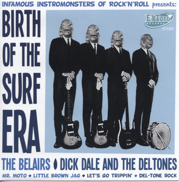 Birth Of The Surf Era 7inch, 45rpm, EP, PS