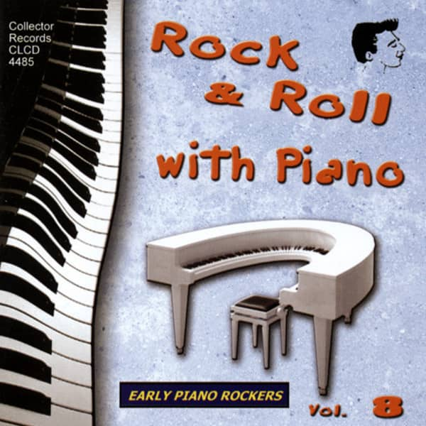 Vol.8, Rock & Roll With Piano