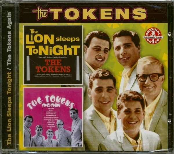 The Lion Sleeps Tonight - The Tokens Again (CD)