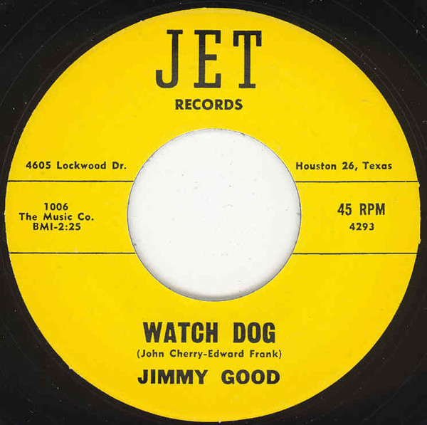 Watch Dog - Let Me Be Your Friend 7inch, 45rpm