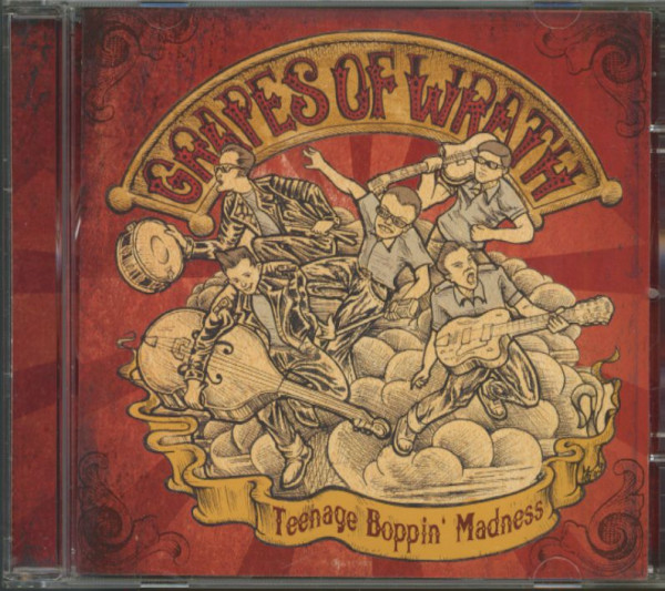 Teenage Boppin' Madness (CD)