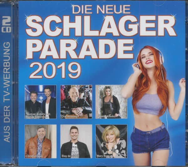 Die Neue Schlager Parade 2019 (2-CD)