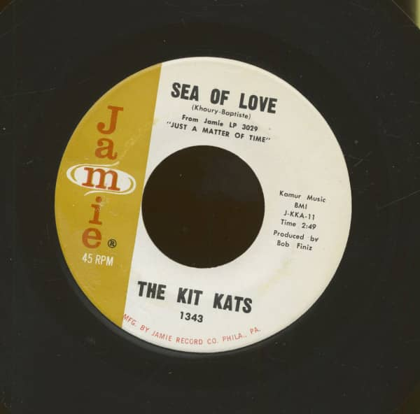 Sea Of Love - Gold Walls (7inch, 45rpm)