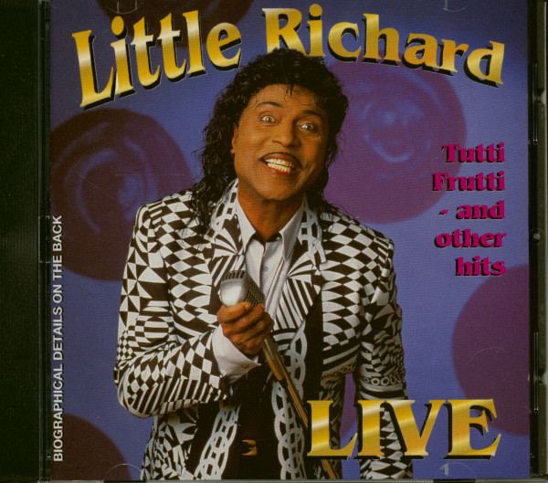 Live - Tutti Frutti & Other Hits (CD)