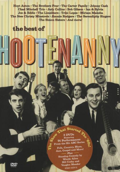 Various DVD: Hootenanny - Best Of (3-DVD (0) Digipac) - Bear Family