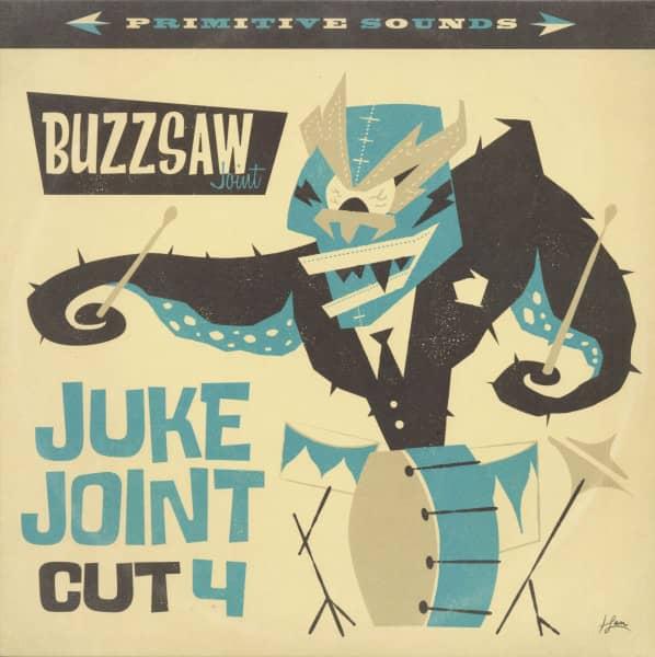 Buzzsaw Joint - Juke Joint Cut 4 (LP)