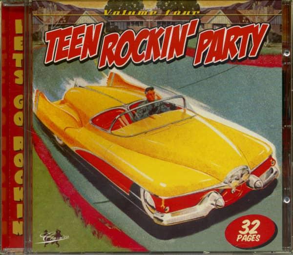 Teen Rockin' Party Vol.4 (CD