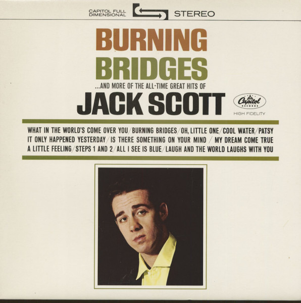 Burning Bridges...And More Of The The All-Time Great Hits Of Jack Scott (LP)