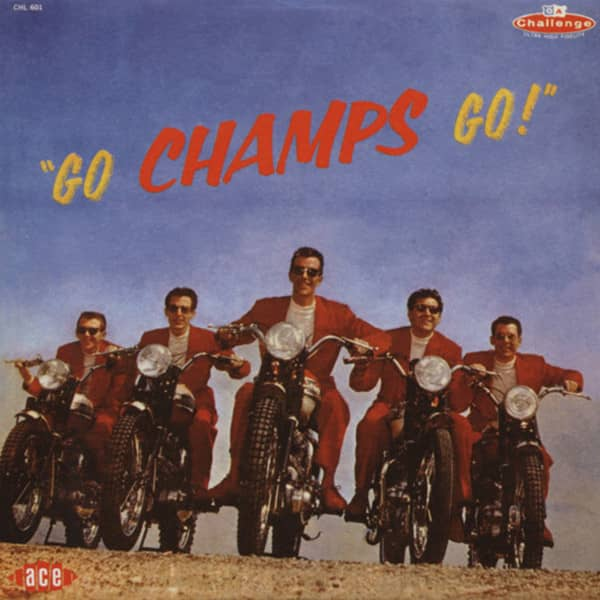 Go Champs Go - Papersleeve