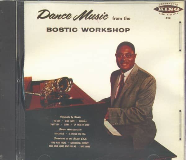 Dance Music From The Bostic Workshop (CD)