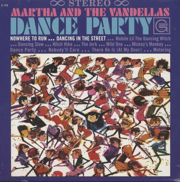 Dance Party (LP, 180g Vinyl)