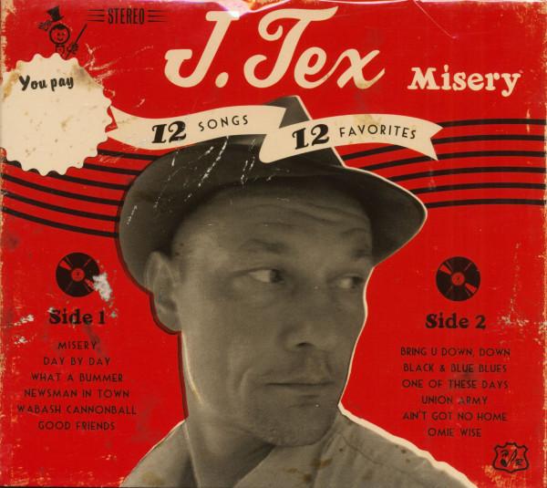Misery - 12 Songs, 12 Favorites (CD)
