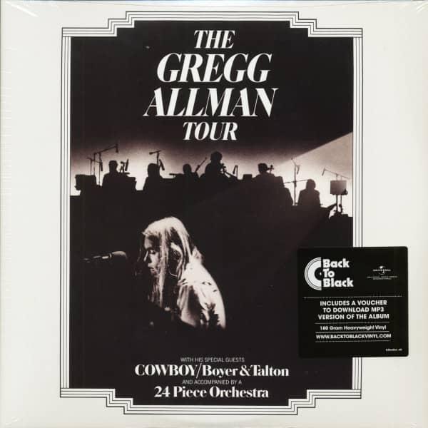 The Gregg Allman Tour (2-LP, 180g Vinyl & Download)