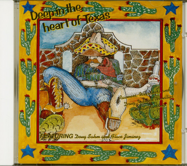Deep In The Heart Of Texas (CD)