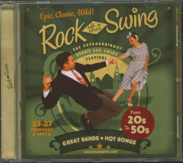 Rock That Swing - Festival Compilation 2017 (CD)