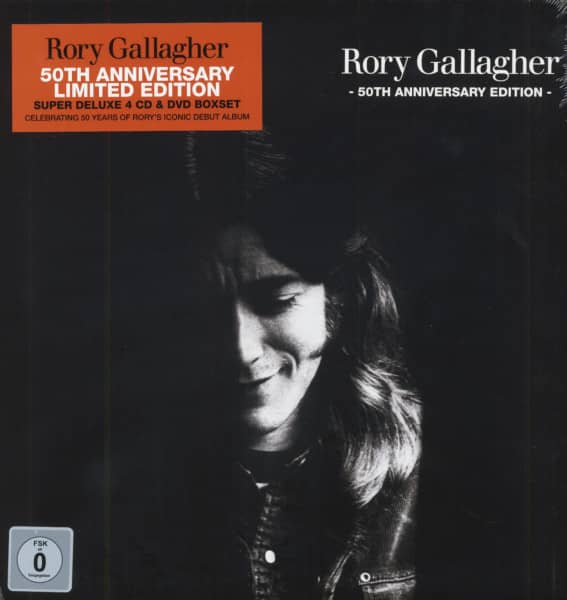 Rory Gallagher 50th Anniversary Edition (4-CD+DVD Box)
