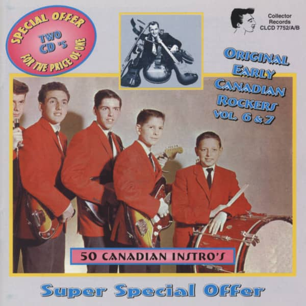 50 Canadian Instros 2-CD