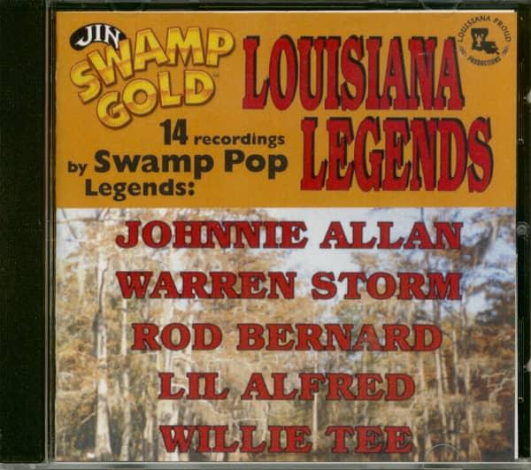 Louisiana Legends Swamp Pop (CD)