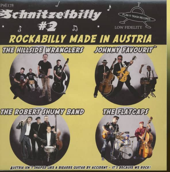 Schnitzelbilly No.2 - Rockabilly Made In Austria (EP, 33rpm, 7inch, PS, SC)