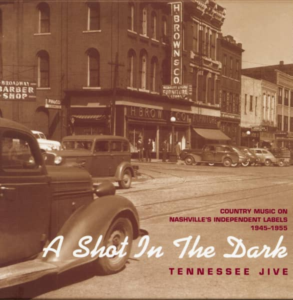 Tennessee Jive, 1945-1955 8-CD-Box & 276-BOOK