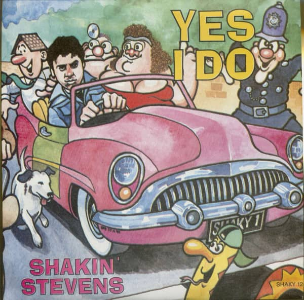 Yes I Do - You Shake Me Up (PS, SC, 45rpm)