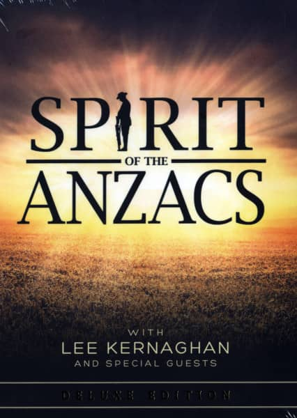 Lee Kernaghan And Special Guests - Spirit Of The Anzacs (2-CD Book Deluxe Edition)