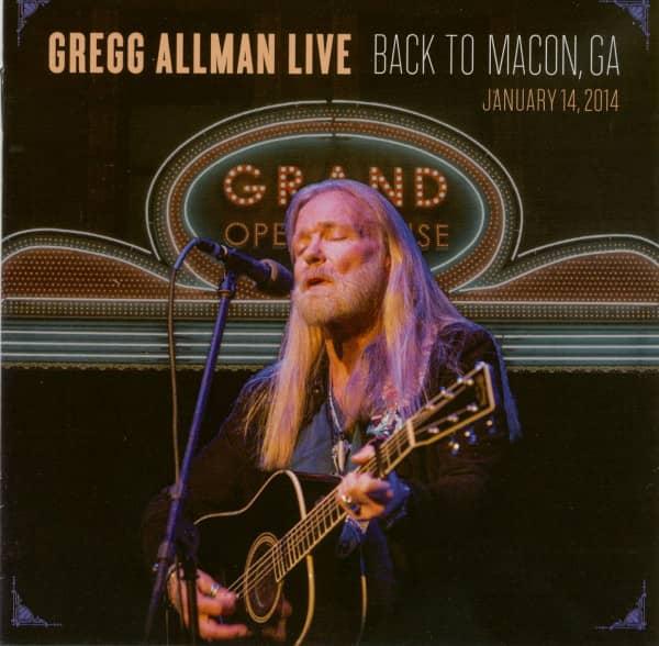 Back To Macon, GA (2-CD)