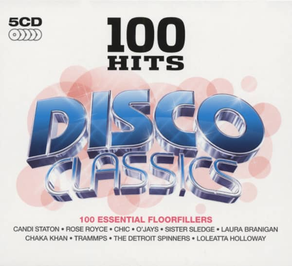 100 Hits - Disco Classics (5-CD)