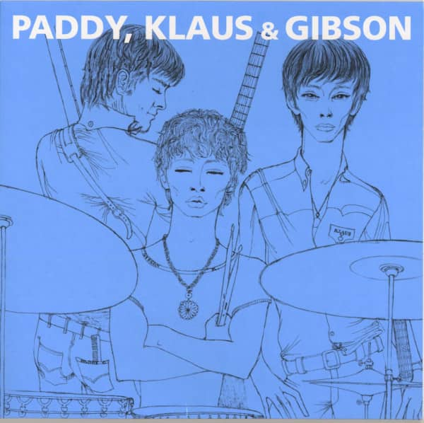 Paddy, Klaus & Gibson (EP, 10inch, Ltd.)