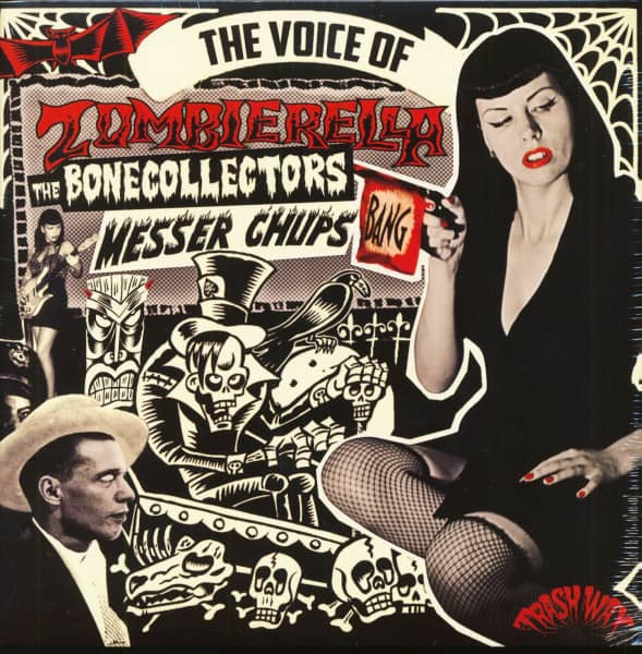 The Voice Of Zombierella (LP, Limited Edition)