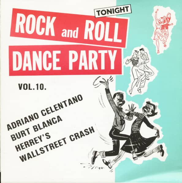 Rock And Roll Dance Party Tonight Vol.10 (7inch, EP, 45rpm, PS)