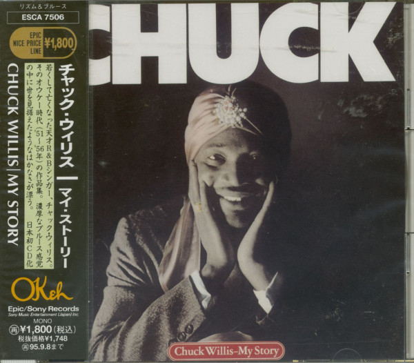 Chuck Willis - My Story (CD Japan)