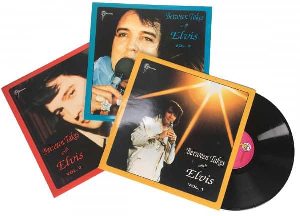 Between Takes With Elvis Set Vol.1-3 (3-LP)