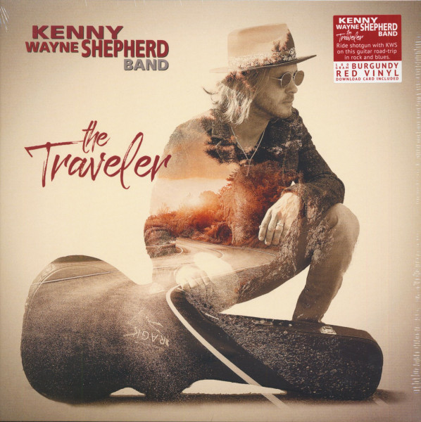 The Traveler (LP, 180g Burgundy Red Vinyl & Download)